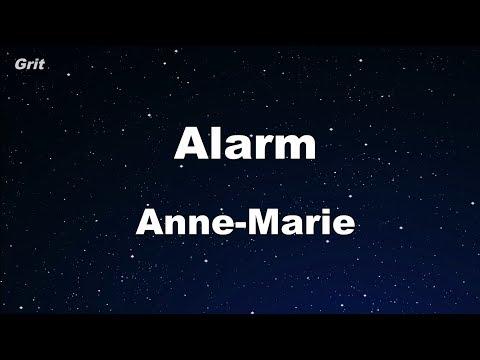 Alarm - Anne-Marie Karaoke 【No Guide Melody】 Instrumental