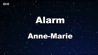 Alarm - Anne-Marie Karaoke 【No Guide Melody】 Instrumental