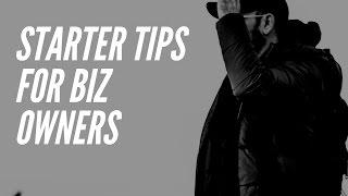 Starter Tips for Entrepreneurs/Small Business Owners | Genesis Dorsey