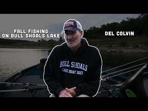 Fall Fishing On Bull Shoals Lake 2018