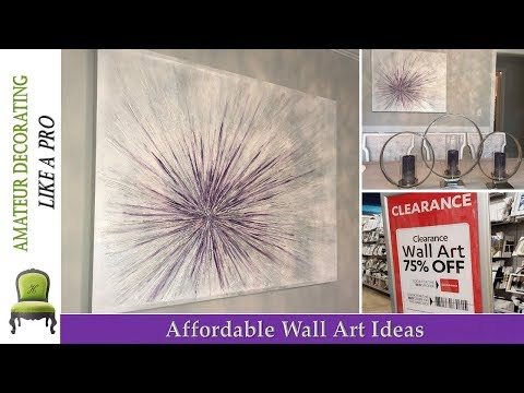 Affordable Wall Art Ideas - SHOP Clearance ART And WIN!