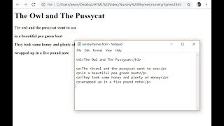 2. HTML, CSS and JavaScript: HTML Tags