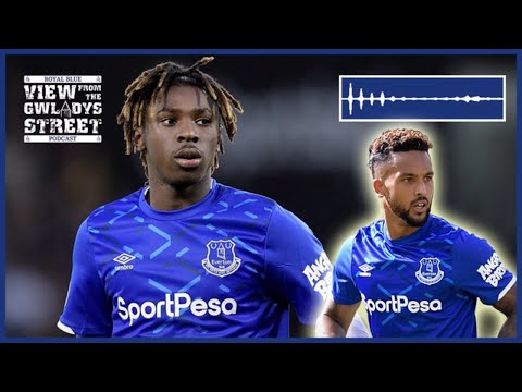 Moise Kean First Everton Interview Youtube