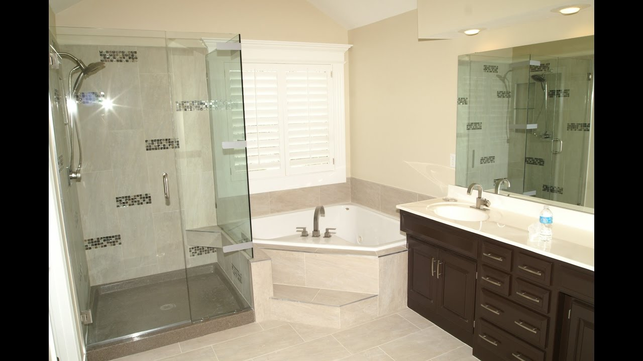 corner bathtubs for small bathrooms youtube - Bathroom Remodel Corner Tub