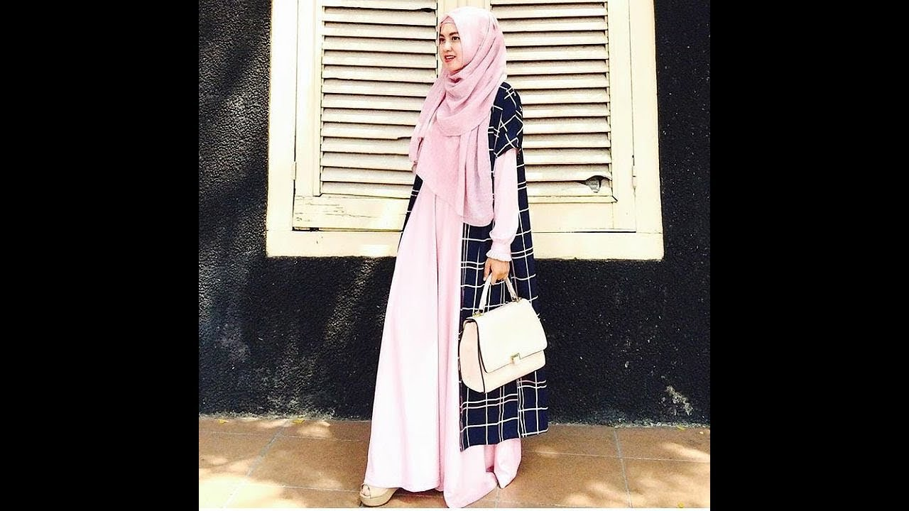 70 Pilihan Model Baju Muslim Syari Terbaru 2018 By Raknaninfo Atasan Sweden Putih Shop At Velvet