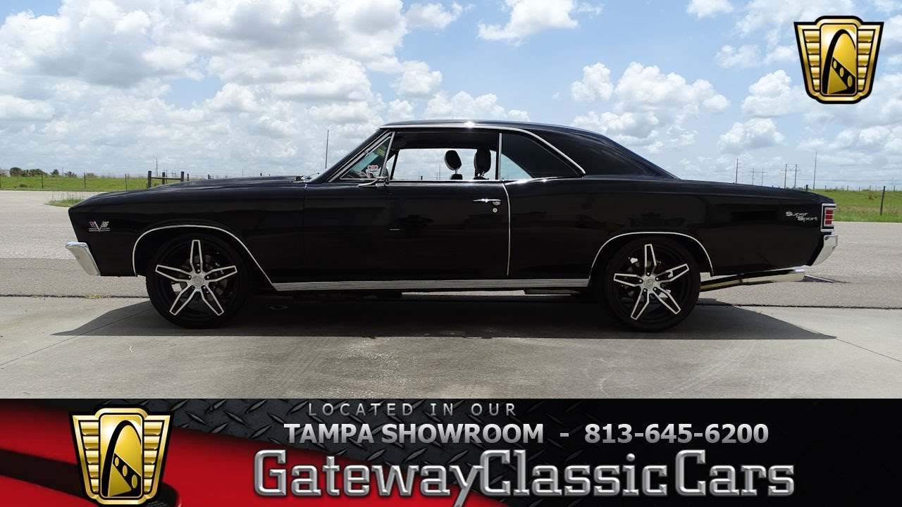 1967 Chevelle SS Gateway Classic Cars Tampa 1236