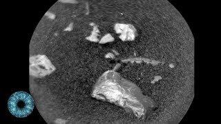 Mysteriöse Objekte auf Mars-Oberfläche entdeckt - NASA rätselt über Curiosity Rover Funde!