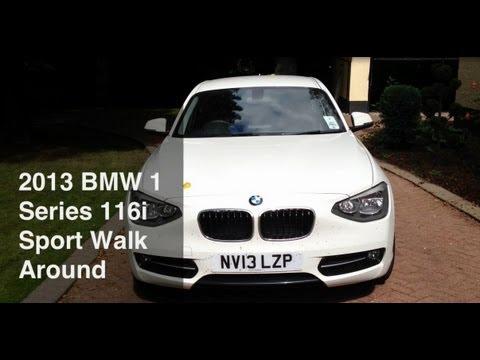 2013 WHITE BMW 1 SERIES 116i SPORT Quick Walk Around/Start Up
