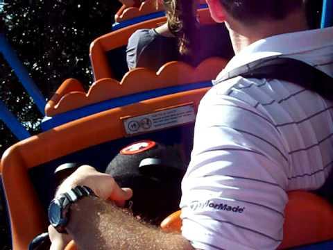 Disney 3-2009 EJ on Goofy's roller coaster!
