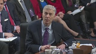 Gorsuch Faces Confirmation Hearing As Trump Touts Healthcare Plan