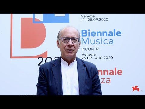 Biennale Musica 2020 - Introduzione di Ivan Fedele...
