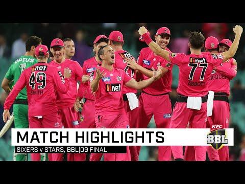 CHAMPIONS! Sixers down Stars to win second BBL title | KFC BBL|09
