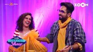 Badhaai Ho | Ayushmann, Sanya, Neena, Gajraj | Interview, Fun Game & Movie Review |Zoom Weekend Show