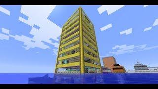 Мои дома в minecraft: Лучший дом!!(золотой, на воде и т.д.)