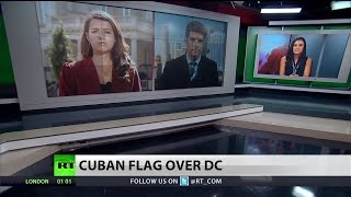 Cuban embassy opens doors in America for first time in 54 years