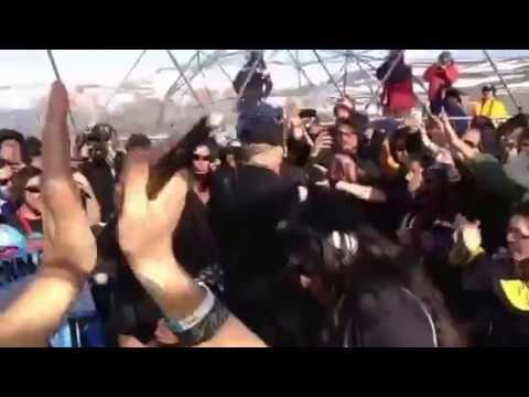 Concierto Metallica en antártica
