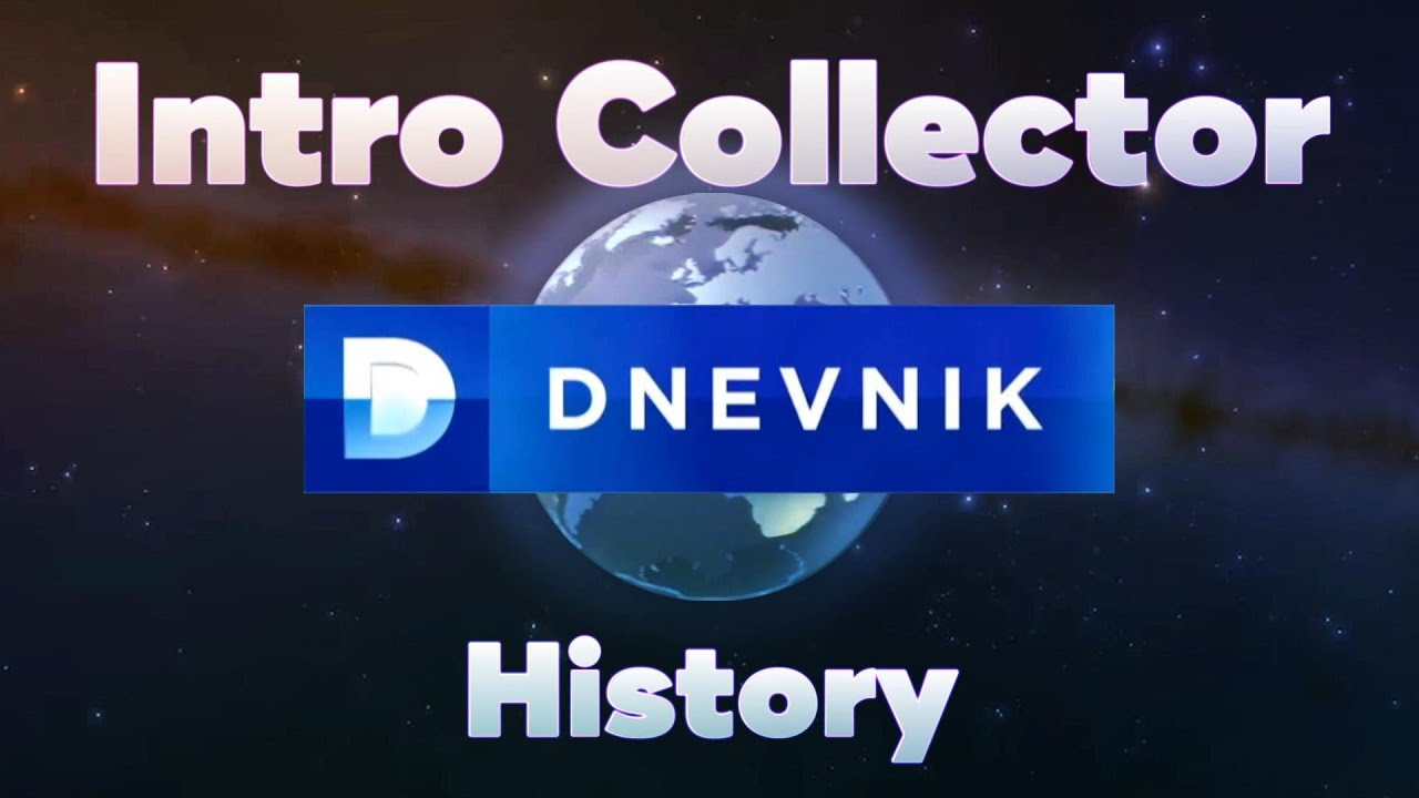 History of HRT Dnevnik intros since 1975 - Intro Collector History