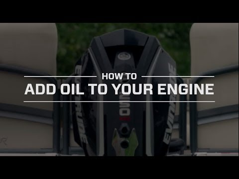 HOW TO: Add Oil To Your Evinrude E-TEC G2