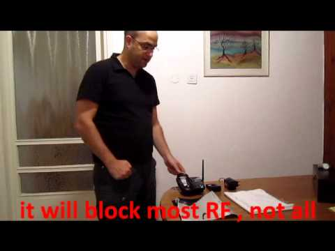 Blocking RF EMF/EMR Radiation, The Basics