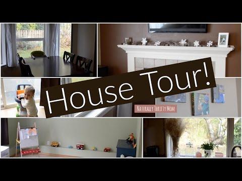 House Tour! Family Of 5 ♡ NaturallyThriftyMom