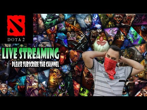 Live Streaming Dota 2 Open TBD Solo, Role Support