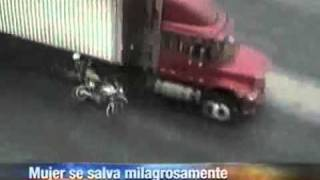 Accidente de agente de tránsito