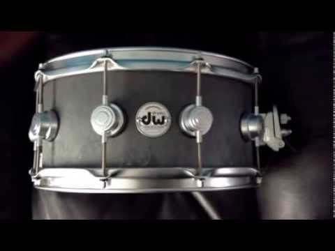 dw concrete snare drum review youtube. Black Bedroom Furniture Sets. Home Design Ideas