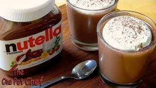 Nutella Dessert Cups - Recipe