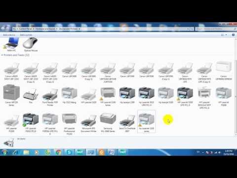 Hướng Dẫn Cài đặt Driver Máy In Hp Laserjet 1320 Trên Windows