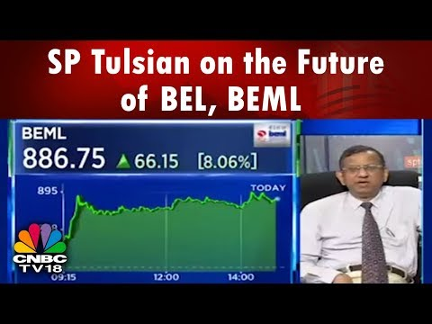 SP Tulsian on the Future of BEL, BEML Stocks | CNBC TV18