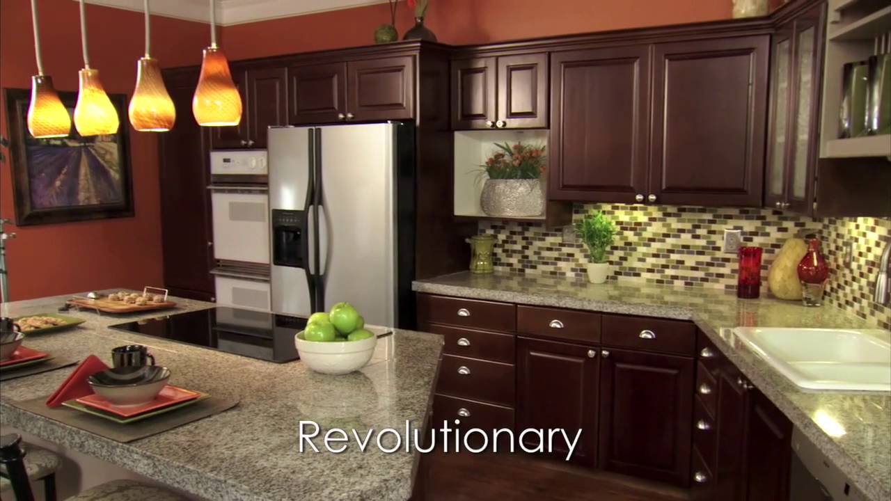 N Hance Kitchen Cabinet Refinishing Color Change Largo, Florida   YouTube