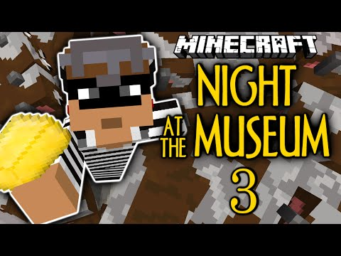 Minecraft | Night At The Museum 3 FINALE | Revenge On The Cows! | Thiefcraft (Minecraft Custom Map)
