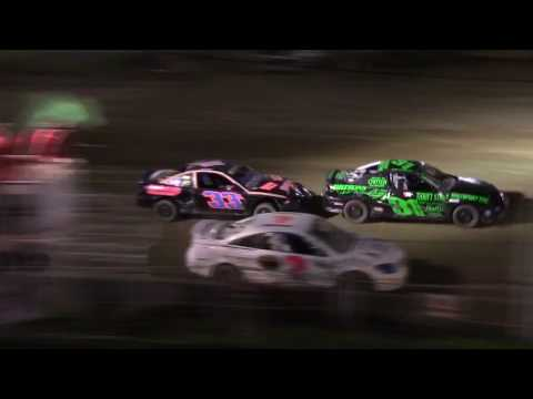 Old Bradford Speedway Kids Mini Stock Feature 8 20 17