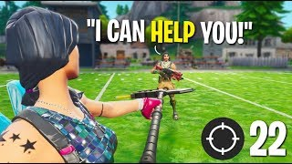 Fortnite: Random Duo Helps Me Get A High Kill Win!