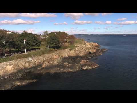Marblehead MA- Fort Sewall Drone footage