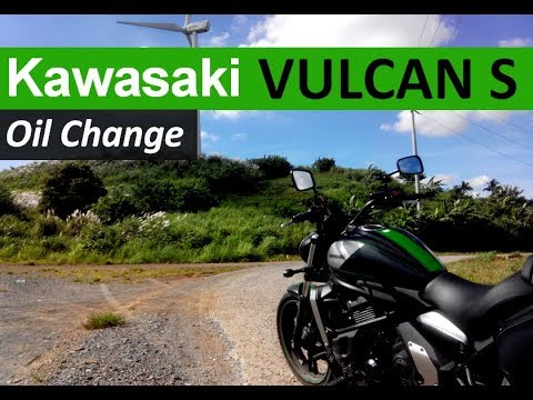 How To Change Oil Kawasaki Vulcan S Diy