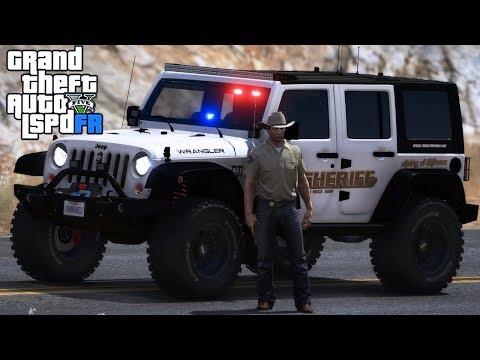 GTA 5|LSPDRF #206|POLICIA de SHERIFF en JEEP 4X4|EdgarFtw