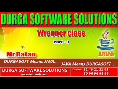 Corejava-Wrapper Class-part-1