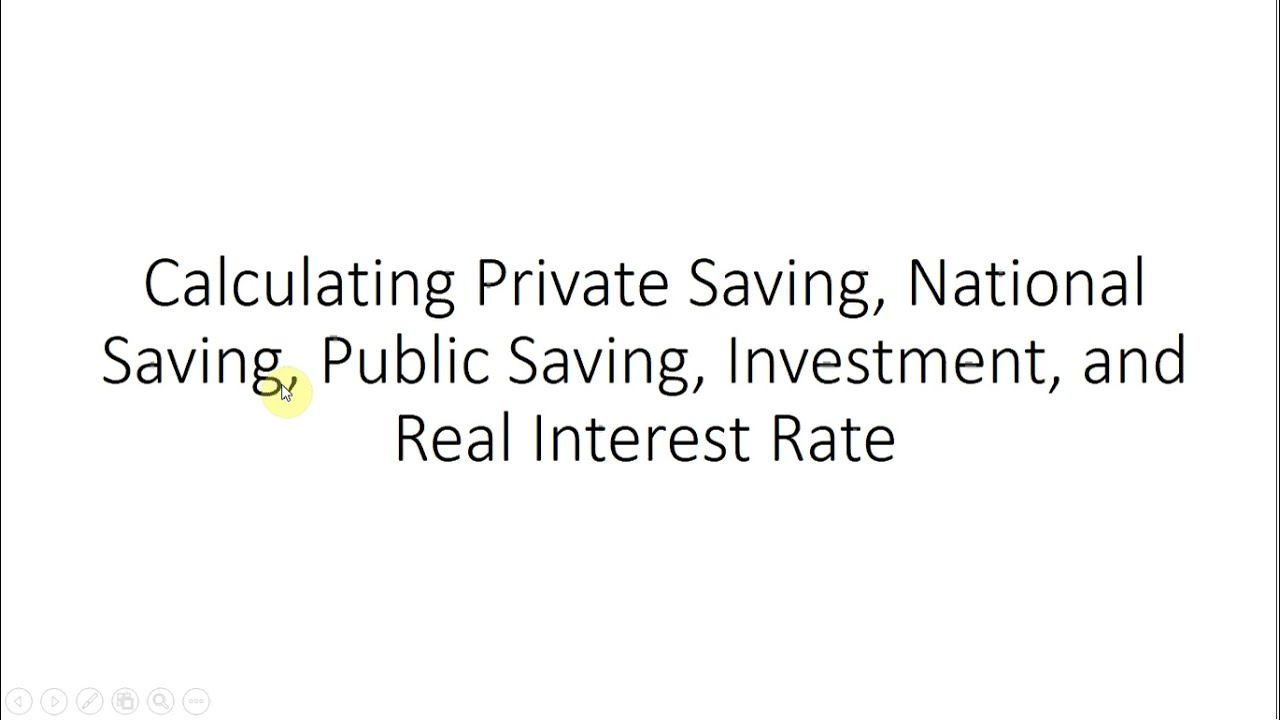 examples of savings