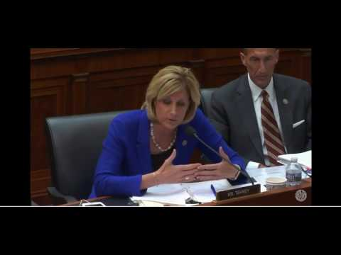 Rep. Tenney questions Federal Reserve Chair Janet Yellin