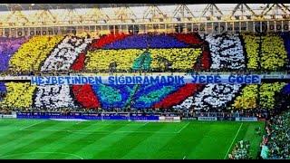 Fenerbahçe Taraftarının Yaptığı Bütün Koreografiler - HD