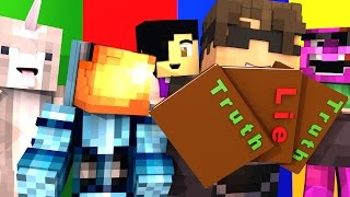 Minecraft TWO TRUTHS AND ONE LIE 2!