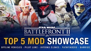 We take a look at the best recent mods for Star Wars Battlefront 2 ...