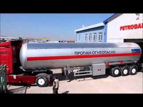 Газовозы от Техно Трейд  70м3 и 60 м3 отправка