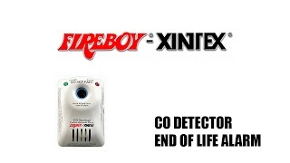 Why is Your Carbon Monoxide Detector Chirping - Fireboy Xintex
