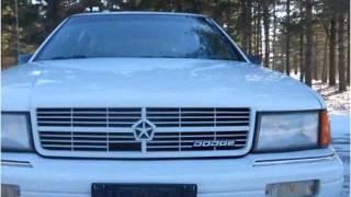 1990 Dodge Spirit Used Cars Wadsworth IL