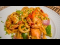 Spicy Seafood Udon Noodles | Tutorial