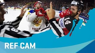 Ref Cam Best Moments #4 | #IIHFWorlds 2017