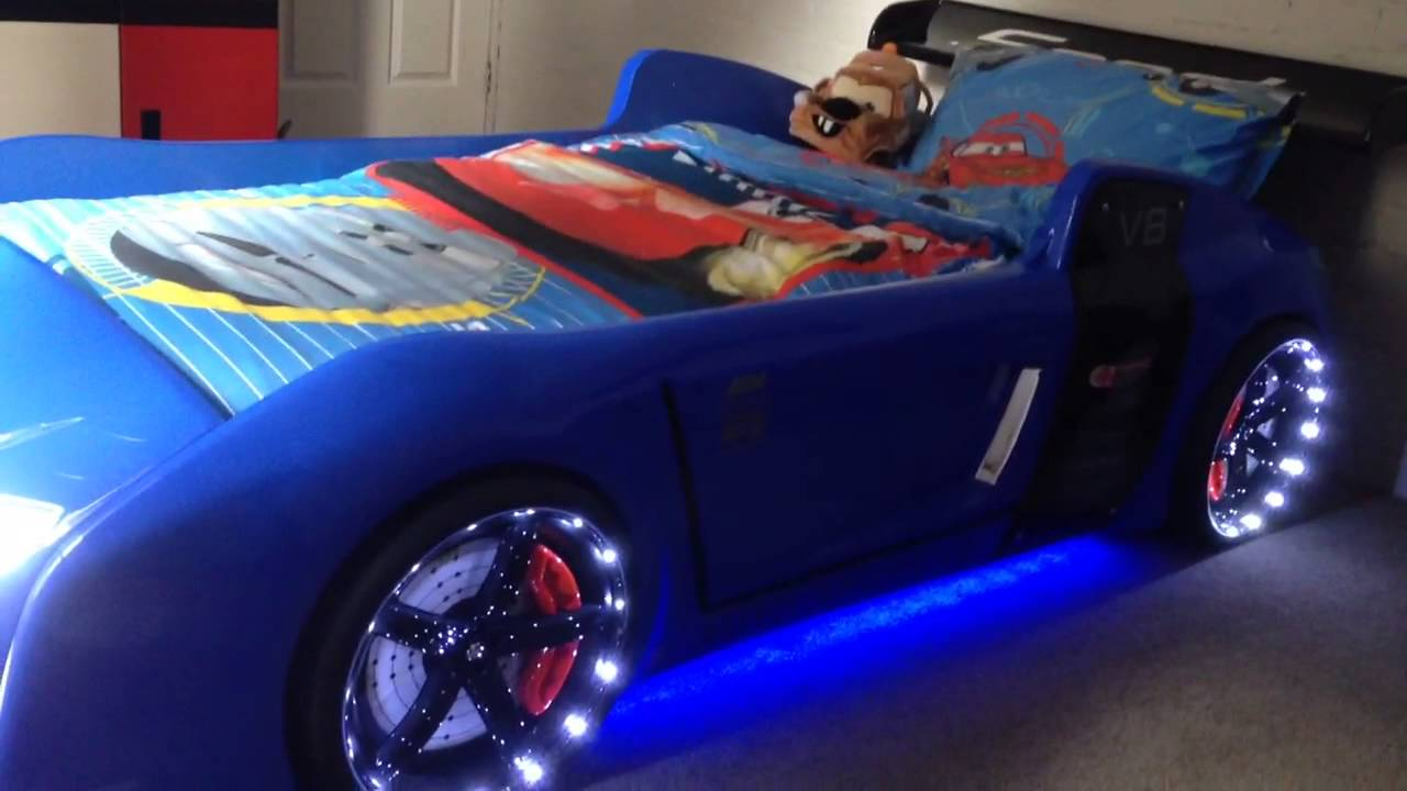 Toddler On Car Blue R8 Extreme The Ultimate Car Bed For Kids Youtube