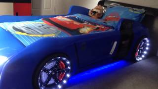Blue R8 Extreme - The Ultimate Car Bed For Kids
